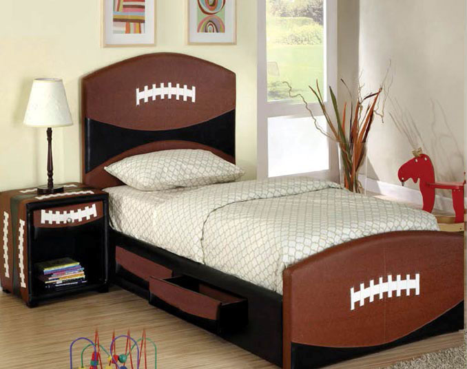 Kickoff Storage Bed With 2 Drawers