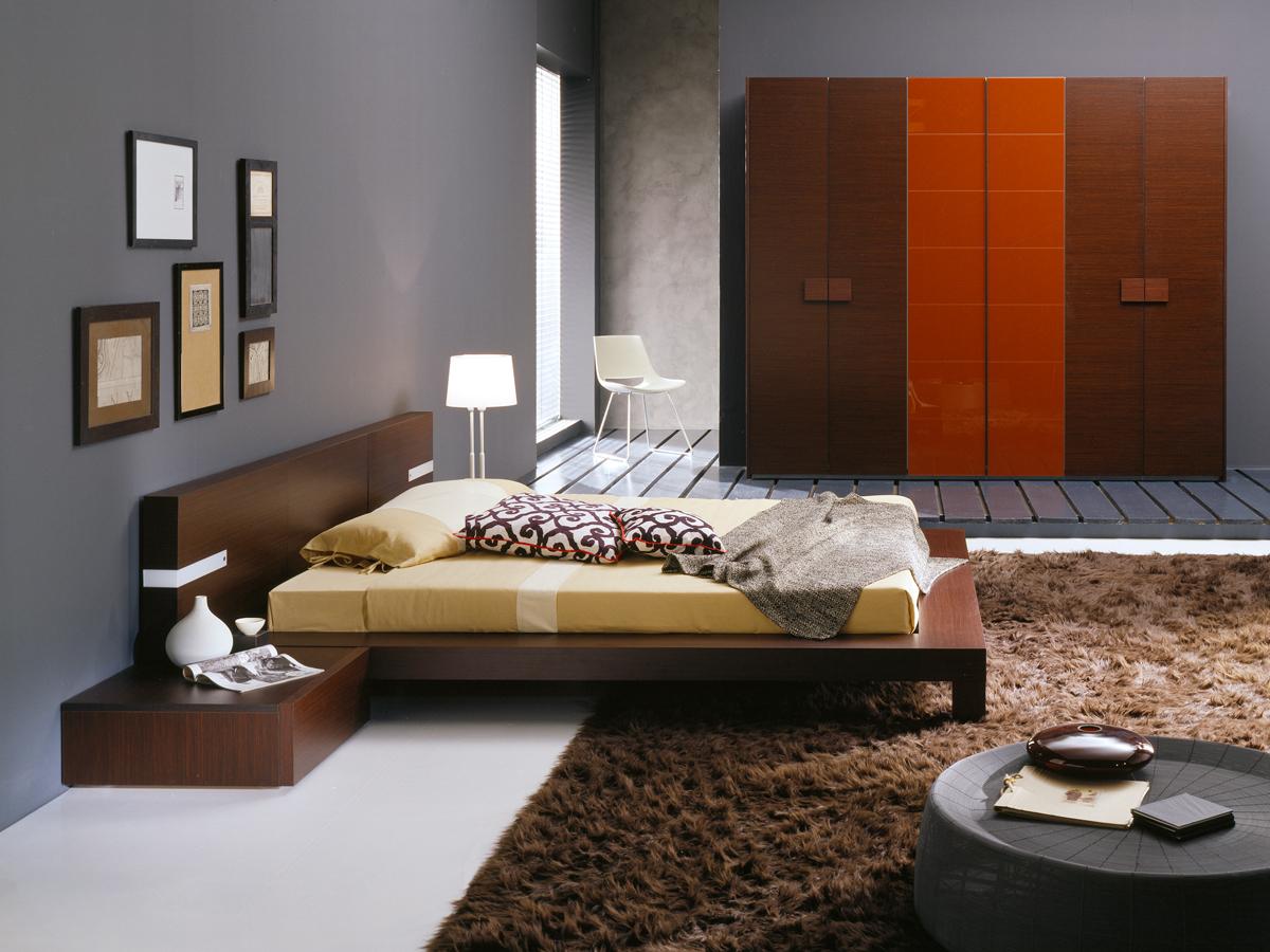 Fuji Modern Platform Bed
