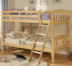 Country Time Girl S Twin Twin Bunk Bed