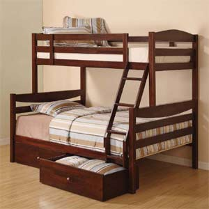 Versailles Girls Twin Double Bunk Bed Optional Trundle
