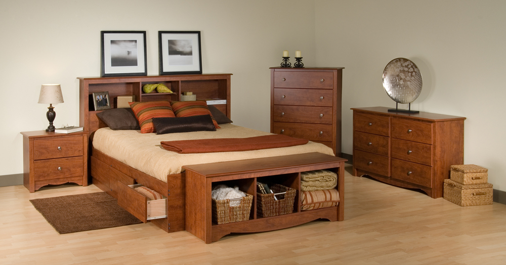 Napa Deluxe Multi Functional Storage Platform Bed