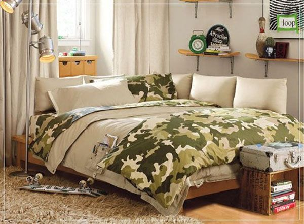 Army Themed Boys Bedroom