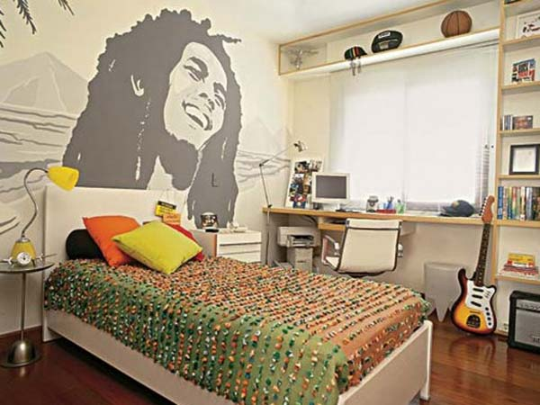 Bob Marley Bedroom