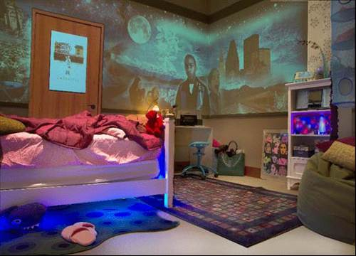 High Tech Teen Bedroom