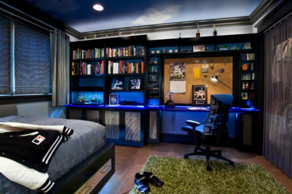 Boys Teen Bedroom Idea