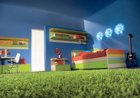 Teen Bedroom Artificial Turf