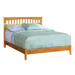 Brooklyn Platform Bed - Open Footrails Brooklyn Platform Bed - Open Footrails