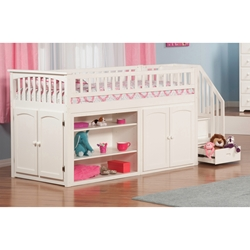 Captains Twin Loft Bed