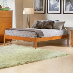 Classic Concord Platform Bed Set - Open Footrails Classic Concord Platform Bed Set - Open Footrails