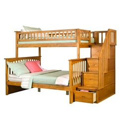 Columbia Twin/Full Staircase Bunk Bed Columbia Twin/full Staircase Bunk Bed