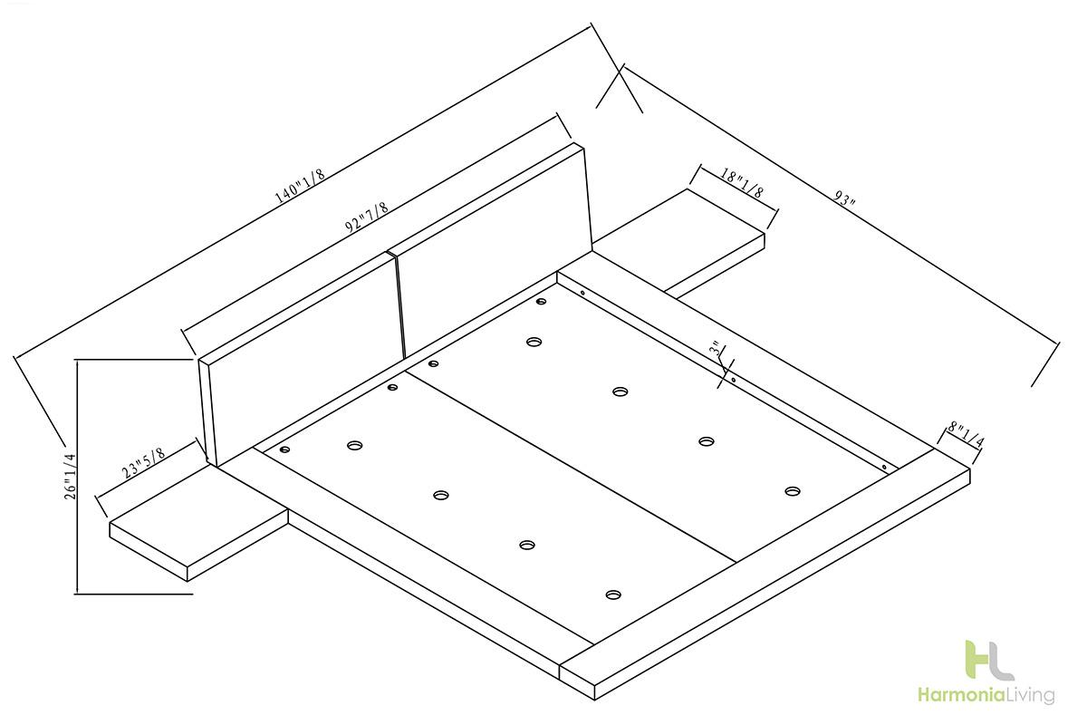 Kooning Platform Kooning Platform Bed
