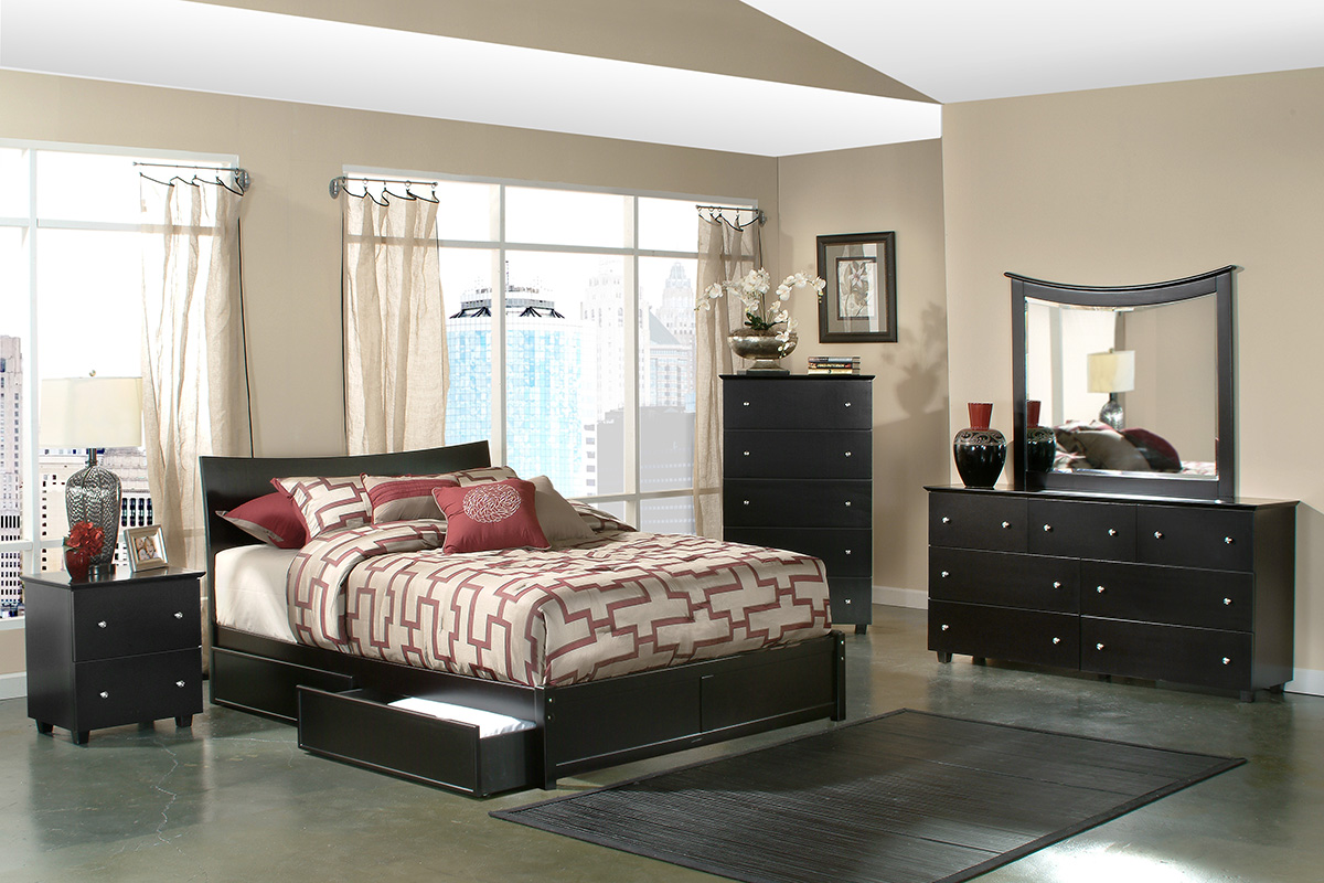 miami storage platform bed modern minimalist design style look sleek affordable value top best most stylish interior expert professional storage space saving drawers under underneath underbed