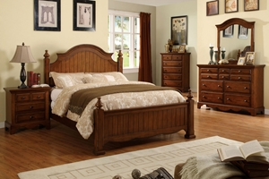 4 Pc. Norland Panel Bed Set The Norland Panel Bed brings all the comforts of the good ol countryside right into your home.
