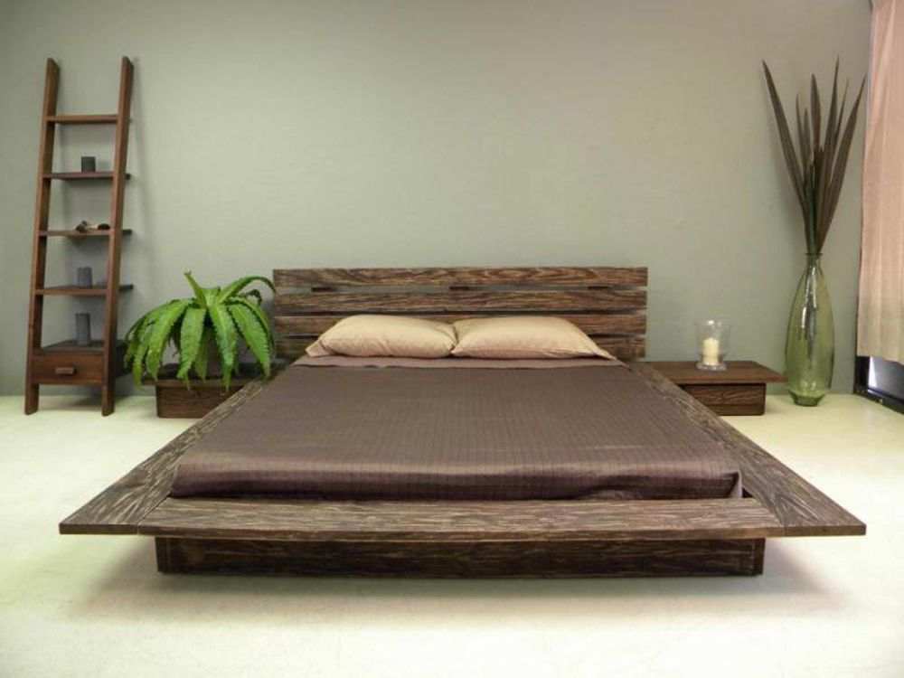 delta platform bed modern rustic floating design style elegant online bedroom furniture