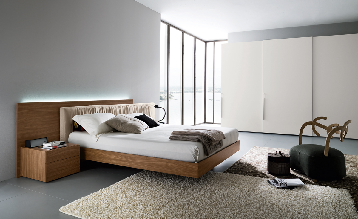 aniston platform bed floating modern design style bedroom best stylish most elegant