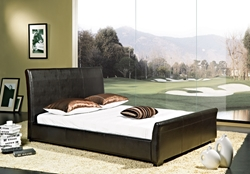 Medrano Leather Platform Bed Medrano Leather Platform Bed
