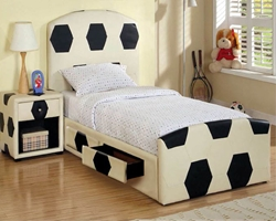 Beckham Storage Bed storage beds, kids storage beds, sports theme beds, kids theme beds, sports beds