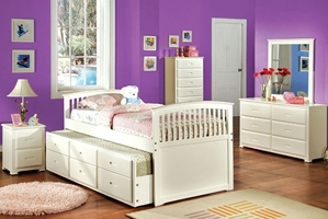 Sydney Captains Storage Bed Space saving is clean and simple with the Sydney Storage Bed.