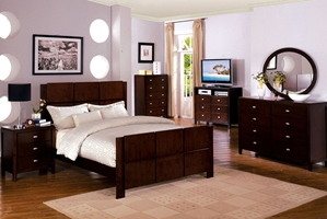 Alaina Platform Bed The Alaina Platform Bed is the epitome of simple contemporary style beds of today.