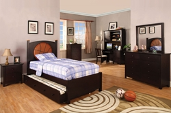 Bryant Storage Platform Bed Give your little one the bed of their dreams with a basketball-themed bed like the Bryant Platform Bed.