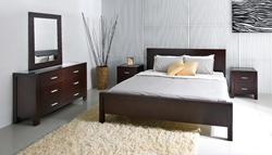 5 Pc. Brooks Platform Bed Set The Five Piece Brooks Bed Set brings luxury and comfort to the most important room of your home with versatile pieces that will be the highlight of any bedroom.