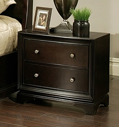 "Cooper Nightstand The Cooper Nightstand is a sophisticated addition to any bedroom.Dimensions: 28""W x 17""D x 24""H"