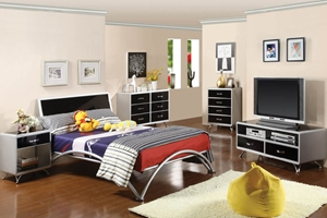 Cascade Platform Bed You and your child will love the Cascade Platform Bed's hip and modern style.