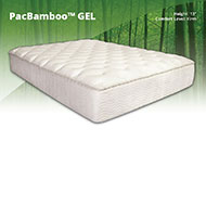 "PacBamboo Gel 13"" Memory Foam Mattress - PBO11505"