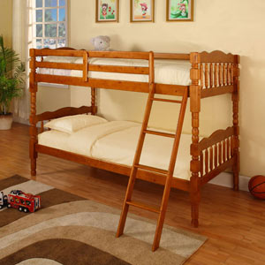 Country Time Boys Twin/Twin Bunk Bed Twin/Twin bunk bed