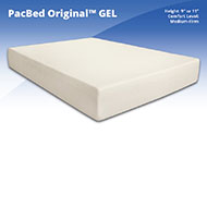 "PacBed Original 9"" Gel Memory Foam Mattress Give yourself the luxury that you want in your sleep without the fancy prices with our PacBed Original Memory Foam Mattress."