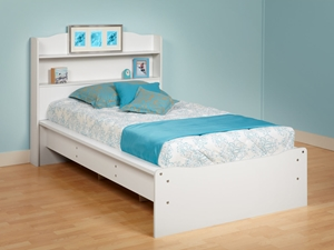 Brooklyn Platform Bed Dont deal with having to change your childs bed every few years due to their change in likes and dislikes. With our Brooklyn Platform Bed, you wont have to worry about your childs tastes outgrowing this beds looks!
