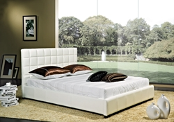 Parksville Leather Platform Bed Parksville Leather Platform Bed