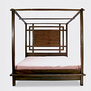 Kobe Canopy Platform Bed Our brand new Kobe Canopy Platform Bed offers all the grandeur and sophistication the Kobe Platform Bed offers  but with an explosion of a spectacular headboard and canopy design!