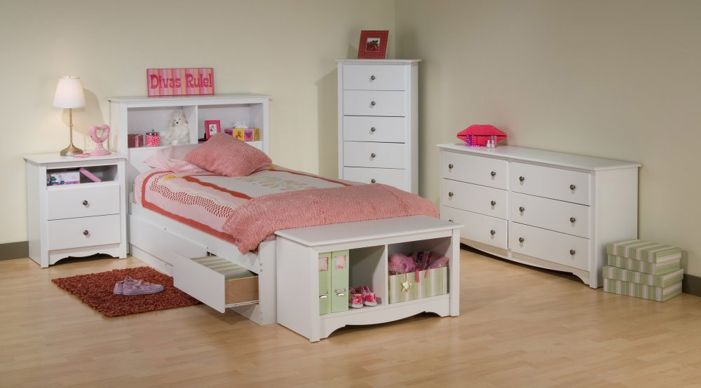 Napa Kids Storage Platform Bed