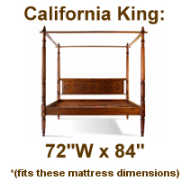 California King Platform Beds