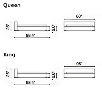 Standard Bed Sizes Chart Standard Bed Sizes Chart O Nongzico