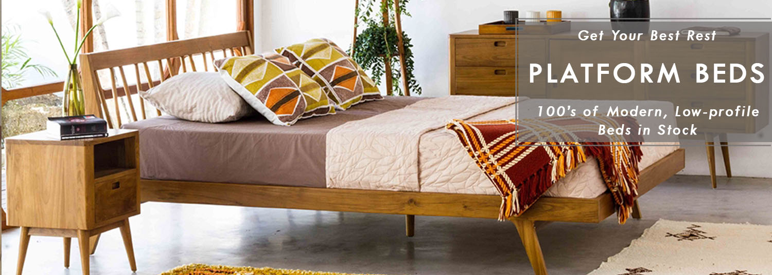 Modern Platform Beds on Sale Now