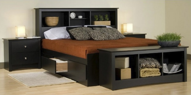 Storage Platform Beds Can Be Very Advantageous To Minimalist Modern Bedroom  Design