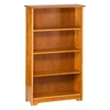 "Atlantic 55"" Bookcase - Caramel Latte C-69307 - C-69307"