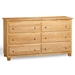 Atlantic 6-Drawer Dresser - Natural C-68655 - C-68655