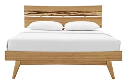 Azara Platform Bed Caramelized Finish azara, platform, bed, greenington, caramel, caramelized finish, modern, solid, wood