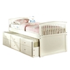 Bella Captains Bed - White CM7035W Bella Captains Bed - White CM7035W