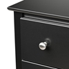 Berkshire 2-Drawer Nightstand - Black BRK-2525 - BRK-2525