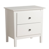 Berkshire 2-Drawer Nightstand - White WRK-2525 Berkshire 2-Drawer Nightstand - White WRK-2525