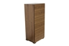 Blok 6-Drawer Chest - Walnut HL-BLOK-WAL-6CH - HL-BLOK-WAL-6CH