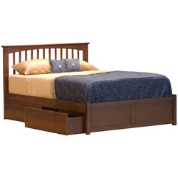 Brooklyn Platform Bed - Flat Panel Footboard Brooklyn Platform Bed - Flat Panel Footboard
