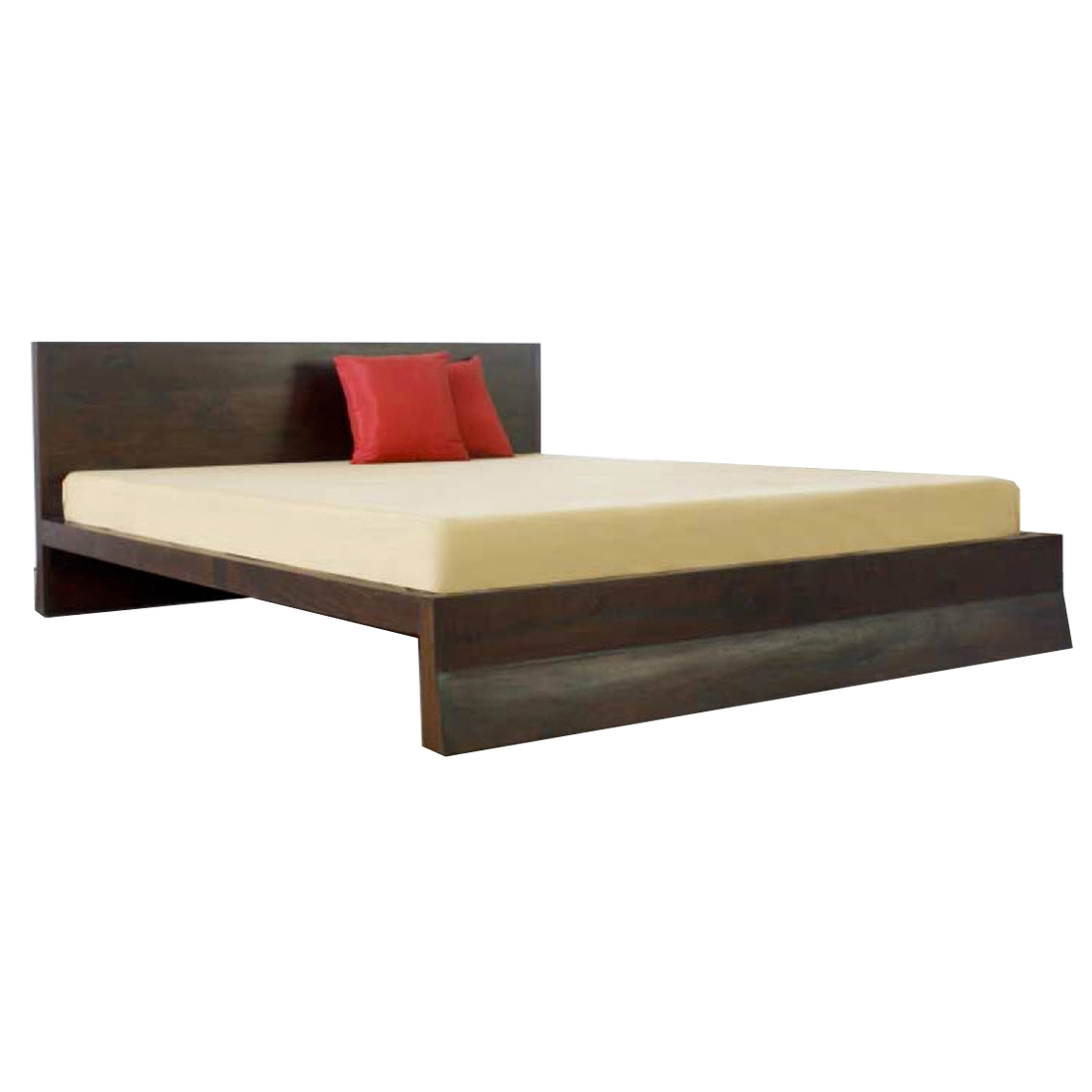 Asian style king bed