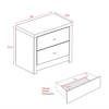 Calla 2-Drawer Nightstand WDNR-0520-1 - WDNR-0520-1