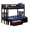 Cascade Twin/Full Bunk Bed AB63201 - AB632X10