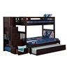 Cascade Twin/Full Staircase Bunk Bed AB63701 - AB637X10